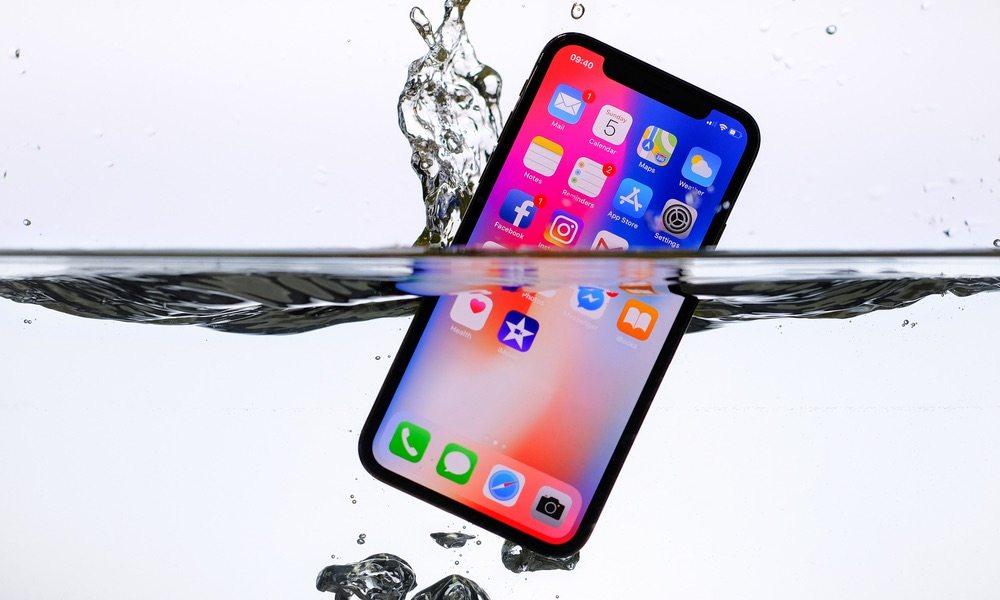 iphone water damaged repair